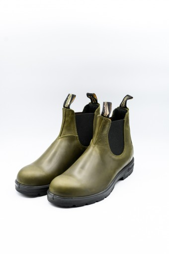 BLUNDSTONE DARK GREEN...