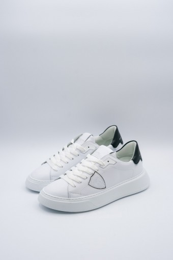 Sneackers Philippe Model Temple L D in pelle liscia